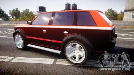 Vapid Huntley Sport RS pour GTA 4 est une gauche