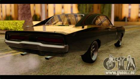 Dodge Charger RT 1970 für GTA San Andreas linke Ansicht