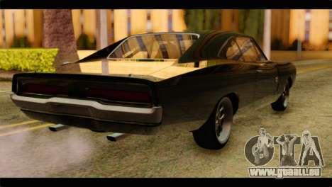 Dodge Charger RT 1970 für GTA San Andreas linke Ansicht