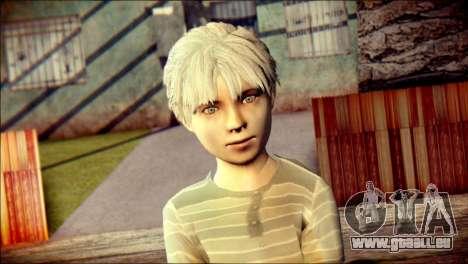 Dante Child Skin pour GTA San Andreas troisième écran