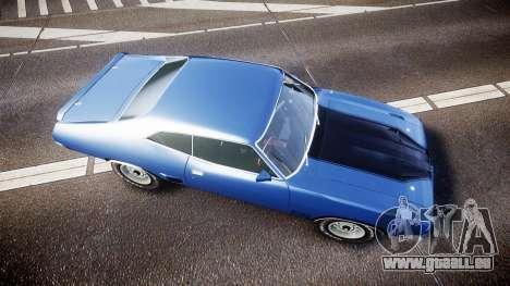Ford Falcon XB GT351 Coupe 1973 pour GTA 4 est un droit