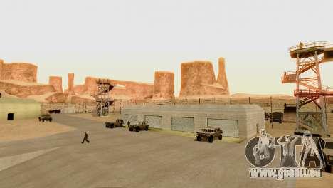DLC 3.0 Militär-update für GTA San Andreas achten Screenshot