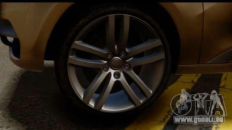 Lada XRay Concept v0.8 pour GTA San Andreas sur la vue arrière gauche
