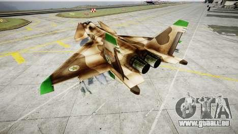 MiG 1.44 IFM pour GTA 4 Vue arrière de la gauche