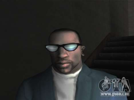 De nouvelles lunettes pour CJ pour GTA San Andreas deuxième écran