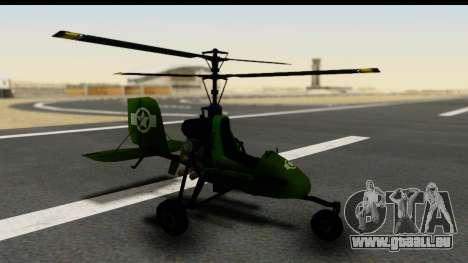 Gyrocopter pour GTA San Andreas