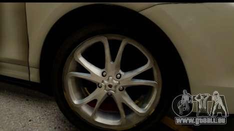 Porsche Cayenne S 2015 pour GTA San Andreas vue arrière