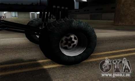 Monster Bobcat für GTA San Andreas zurück linke Ansicht