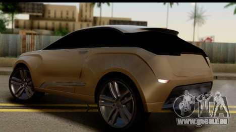Lada XRay Concept v0.8 pour GTA San Andreas laissé vue