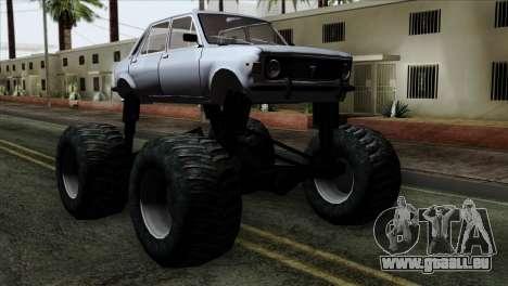 Zastava 1100 Monster pour GTA San Andreas