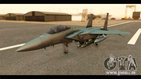 McDonnell Douglas F-15E Strike Eagle pour GTA San Andreas