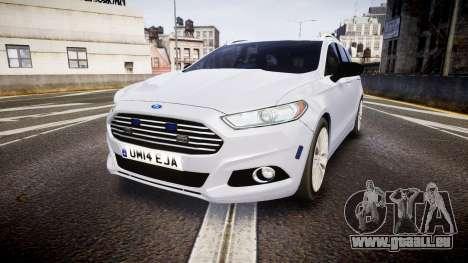 Ford Fusion Estate 2014 Unmarked Police [ELS] für GTA 4