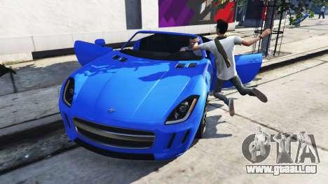 GTA 5 Tödlichen Auto-Tür zweite Screenshot