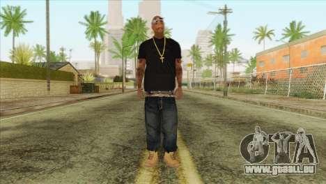 Tupac Shakur Skin v2 für GTA San Andreas