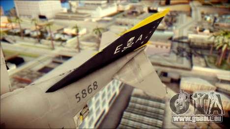 McDonnell Douglas F-4B Phantom II pour GTA San Andreas sur la vue arrière gauche