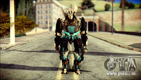 Drift Skin from Transformers pour GTA San Andreas