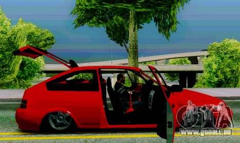 VAZ 2112 für GTA San Andreas Rückansicht