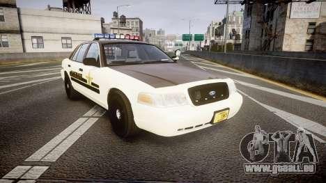 Ford Crown Victoria Liberty Sheriff [ELS] für GTA 4