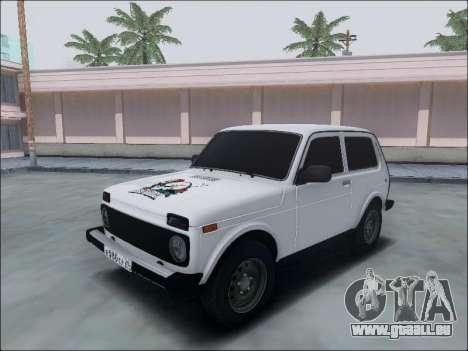 Lada Niva für GTA San Andreas