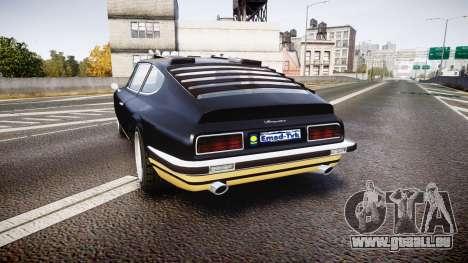 GTA V Lampadati Pigalle für GTA 4 hinten links Ansicht