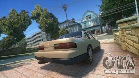 Nissan Silvia S13 1992 pour GTA 4 est une gauche