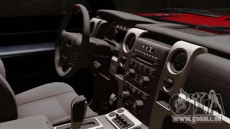 Bobcat Fx4 pour GTA San Andreas vue de droite