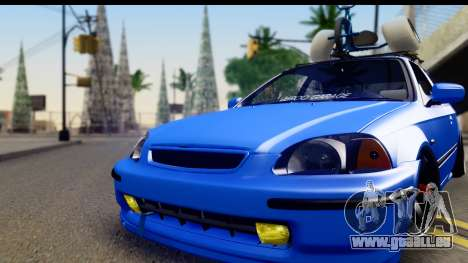 Honda Civic Hatchback für GTA San Andreas zurück linke Ansicht