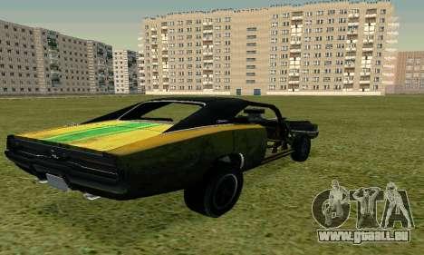Dodge Charger RT HL2 EP2 pour GTA San Andreas laissé vue