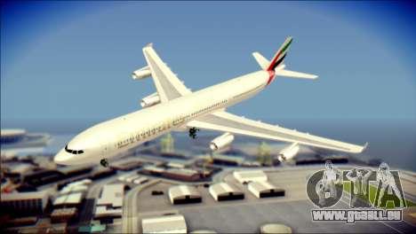 Airbus A340-300 Emirates für GTA San Andreas
