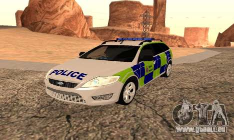 Ford Mondeo Kent Police pour GTA San Andreas