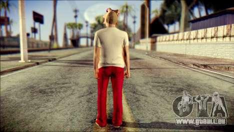 Skin Kawaiis GTA V Online v3 pour GTA San Andreas deuxième écran