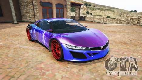 Dinka Jester (Racecar) Lightning PJ für GTA 5