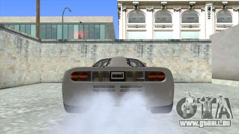 1992 McLaren F1 Clinic Model Custom Tunable v1.0 für GTA San Andreas zurück linke Ansicht