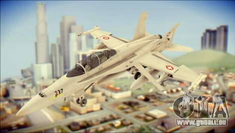 F-18D Swiss Air Force pour GTA San Andreas