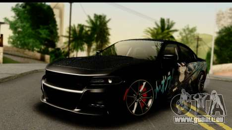 Dodge Charger RT 2015 Sword Art für GTA San Andreas
