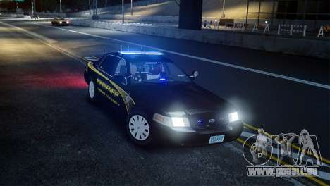 Ford Crown Victoria Sheriff LC [ELS] pour GTA 4 est un droit