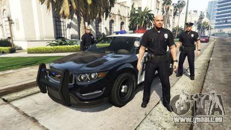 GTA 5 Police Mod 1.0b zweite Screenshot