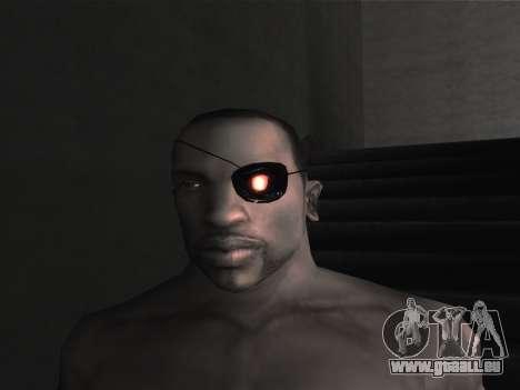 De nouvelles lunettes pour CJ pour GTA San Andreas onzième écran