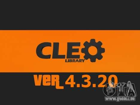 CLEO 4.3.20 [21.04.2015] pour GTA San Andreas
