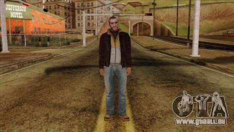 Niko from GTA 5 pour GTA San Andreas