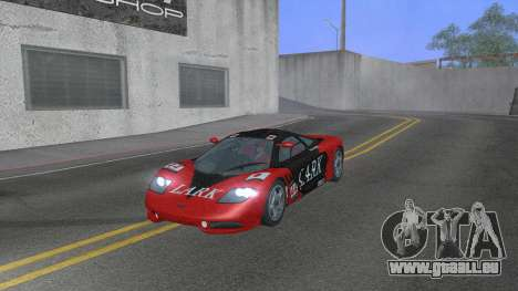 1992 McLaren F1 Clinic Model Custom Tunable v1.0 für GTA San Andreas Unteransicht