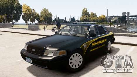 Ford Crown Victoria Sheriff LC [ELS] pour GTA 4