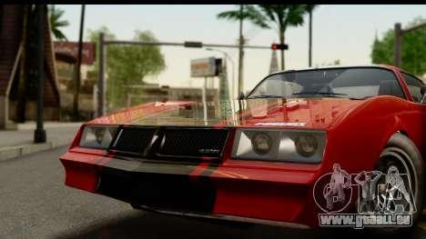 GTA 5 Imponte Phoenix pour GTA San Andreas sur la vue arrière gauche