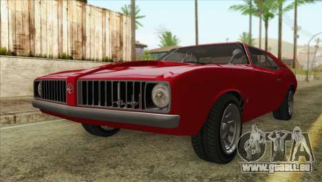 GTA 5 Declasse Stallion für GTA San Andreas