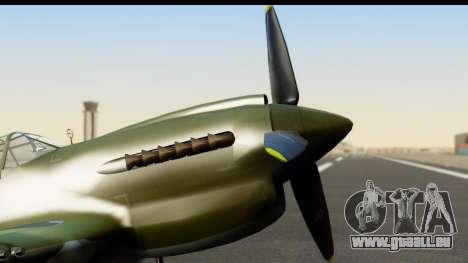 P-40E Kittyhawk IJAAF pour GTA San Andreas vue de droite