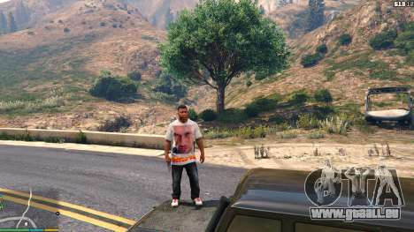 GTA 5 T-shirt for Franklin. - Fizruk huitième capture d'écran