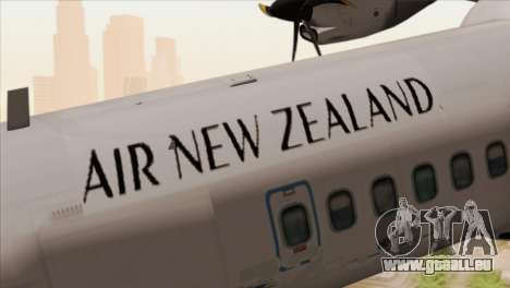 ATR 72-500 Air New Zealand für GTA San Andreas Rückansicht