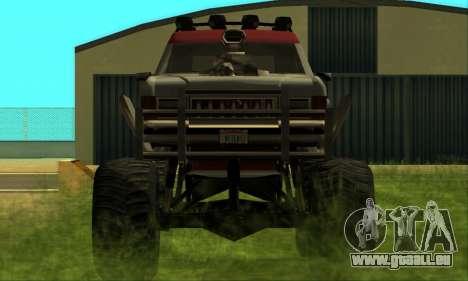Hellish Extreme CripVoz RomeRo 2015 pour GTA San Andreas vue intérieure