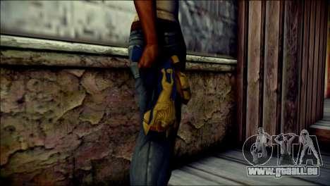 Hyper Magnum Kamen Rider Beast für GTA San Andreas dritten Screenshot