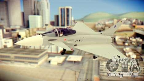 EuroFighter Typhoon 2000 Luftwaffe pour GTA San Andreas
